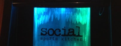 Social Sports Kitchen is one of At work.