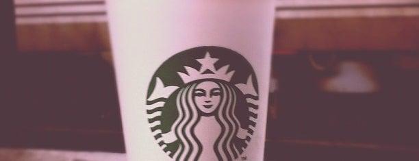 Starbucks is one of JOY: сохраненные места.