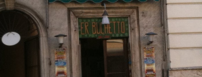 Er Buchetto is one of Street FOOD Gambero Rosso.