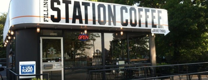 The Filling Station is one of My Coffee Adventure.