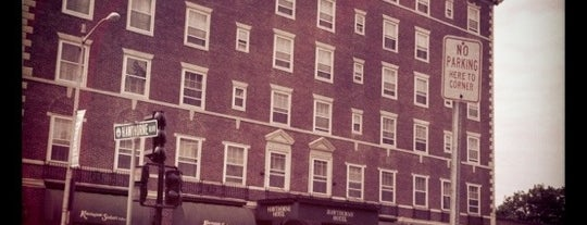 Hawthorne Hotel is one of Tiffany's Liked Places.