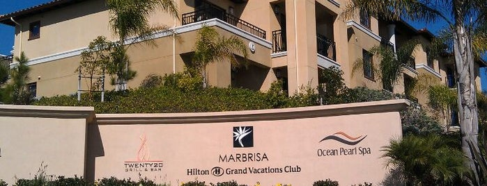 Hilton Grand Vacations Club at MarBrisa is one of Mo's Liked Places.