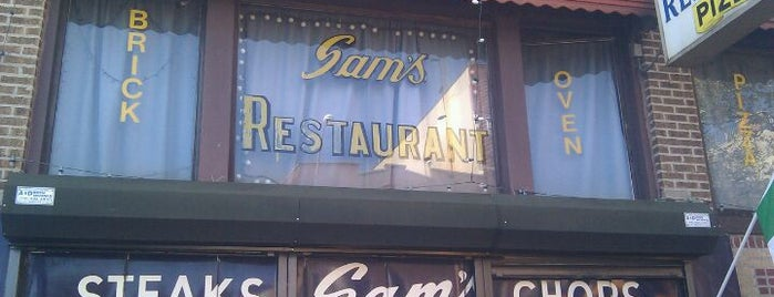 Sam's Italian Cuisine is one of Beyond Manhattan.