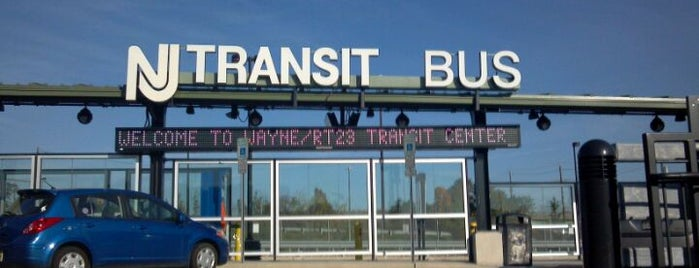 NJT - Wayne/Route 23 Transit Center (MOBO) is one of New Jersey Transit Train Stations.