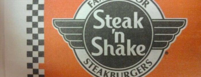 Steak 'n Shake is one of Tempat yang Disukai Jenifer.