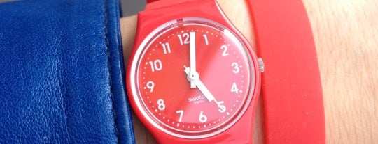 Swatch is one of Annaさんのお気に入りスポット.