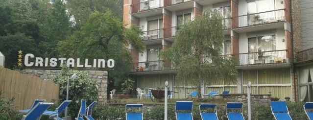 Hotel Cristallino is one of Lieux qui ont plu à Vildan.