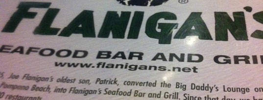 Flanigan's Seafood Bar & Grill is one of Best Bars.