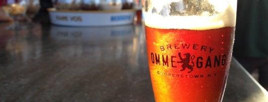 Brewery Ommegang is one of Best US Breweries--Brewery Bucket List.