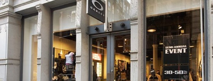Oakley is one of Top picks for Clothing Stores.