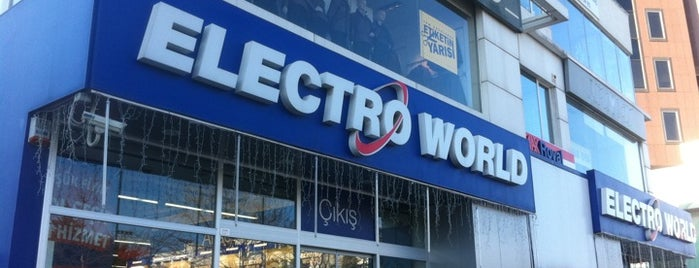 Electro World is one of Kapanan Mekanlar.