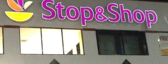 Stop & Shop is one of Orte, die Patrick gefallen.