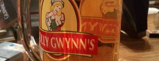 Molly Gwynn's is one of moscow pubs.