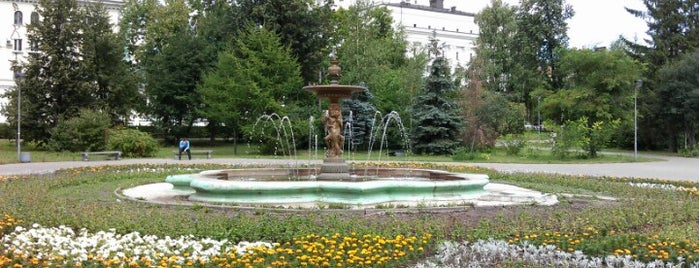 Leninskiy Garden is one of wcup 18.