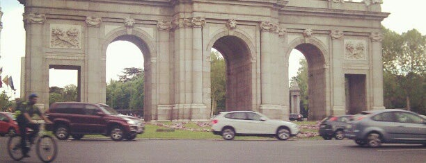 Puerta de Alcalá is one of The Best Of Madrid.