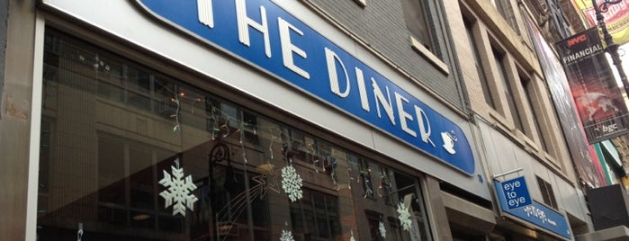 The Diner is one of Greasy Spoon - New York Venues.