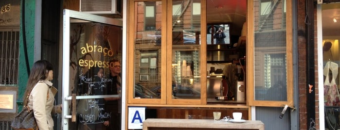 Abraço is one of New York (so far...).