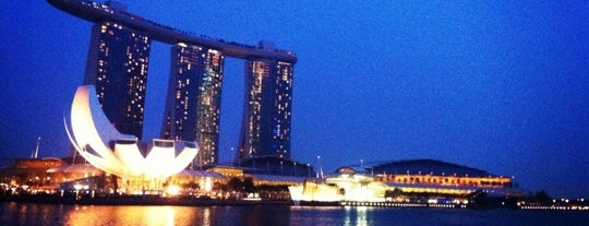 Esplanade Outdoor Theatre is one of Must Visit Places in Singapore.
