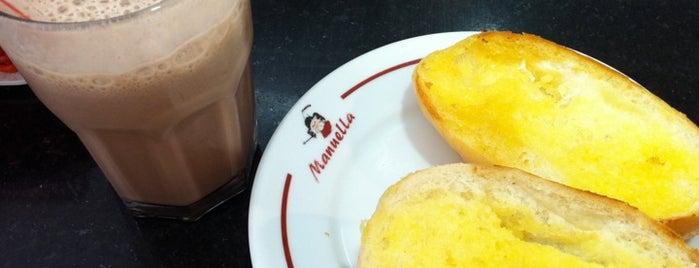 Padaria Manuella is one of Bakeries, Coffee Shops & Breakfast Places.