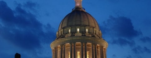 Oklahoma State Capitol is one of To Visit in OKC.