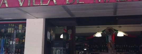 La Villa De Madrid is one of Restaurantes con vinos de Taula Gran.