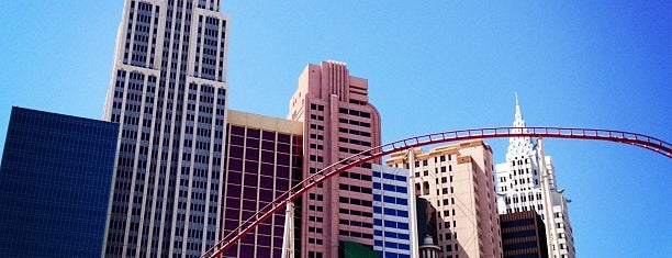 New York-New York Hotel & Casino is one of 101 places to see in Las Vegas before your die.