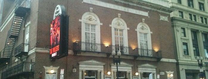Wilbur Theatre is one of Boston Music Venues.