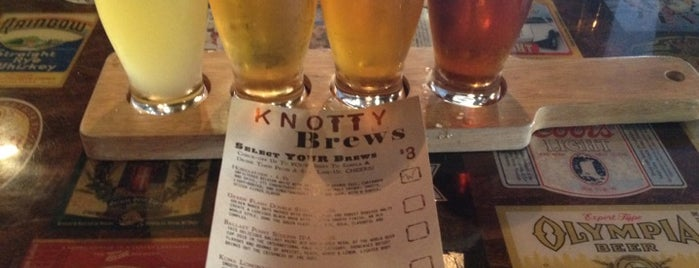 Knotty Barrel is one of Eat like Kevin & Darrell.