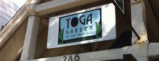 Yoga Garden is one of SF.