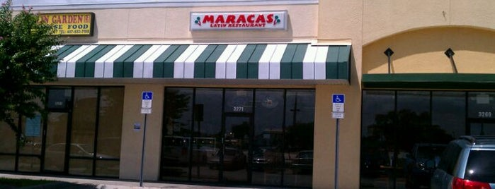 Maracas Latin Restaurant is one of Business contacts.