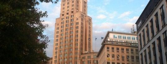 Boerentoren (KBC-Toren) is one of 80 must see places in Antwerp.