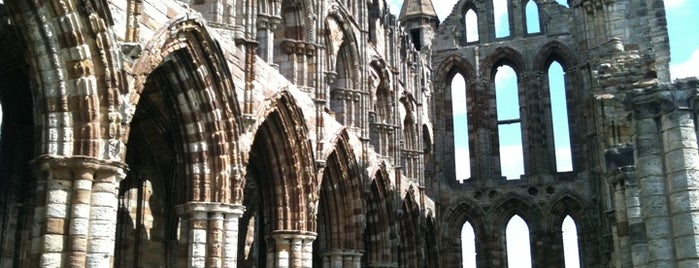 Whitby Abbey is one of Brit stops: Go off the beaten path.