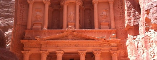 Petra is one of wonders of the world.
