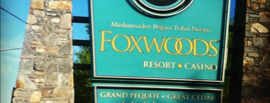 Foxwoods Resort Casino is one of Gespeicherte Orte von Lizzie.