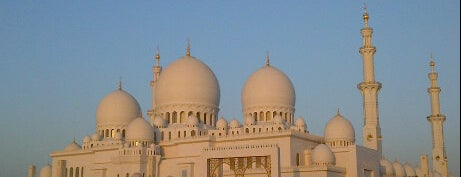 Sheikh Zayed Grand Mosque is one of Relax in Abu Dhabi.