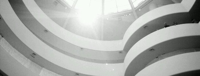 Solomon R Guggenheim Museum is one of Interesting....