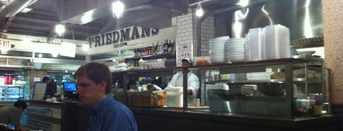 Friedman's is one of Girellando qua e la'.