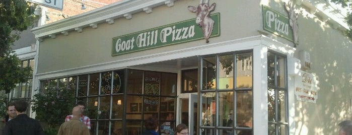 Goat Hill Pizza is one of San Francisco.