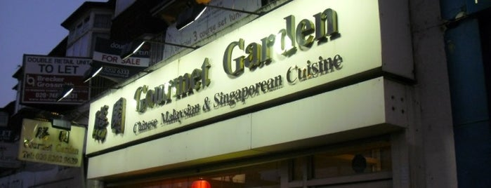 Gourmet Garden Restaurant is one of Malaysian Restaurants in London.