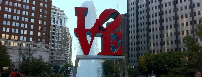 JFK Plaza / Love Park is one of Philly's Phinest Sightseeing Guide.