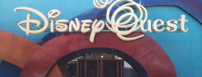 ディズニークエスト is one of Disney Sightseeing: Downtown Disney.
