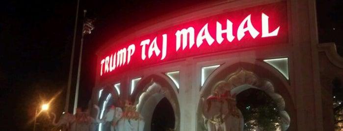 Trump Taj Mahal Casino Resort is one of Atlantic City Casinos.