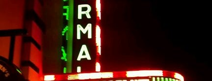 Normal Theater is one of Illinois's Greatest Places AIA.