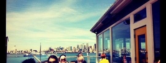 Salty's on Alki is one of Lost in Seattle.