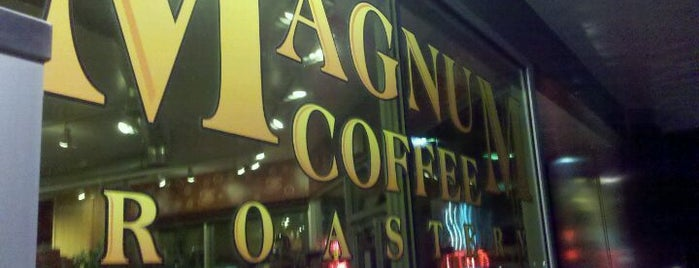 Magnum Coffee Roastery is one of Lugares favoritos de Kyle.