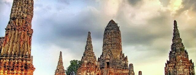 Wat Chai Watthanaram is one of Orte, die Alan gefallen.