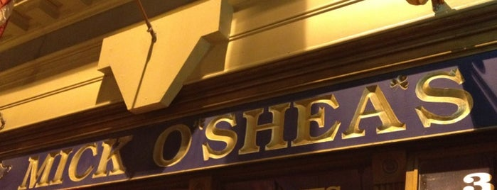 Mick O'Shea's Irish Pub is one of Orte, die John gefallen.