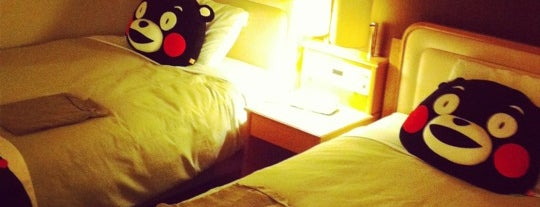 Mitsui Garden Hotel Kumamoto is one of Masahiro : понравившиеся места.