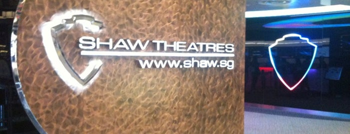Shaw Theatres is one of MAC 님이 좋아한 장소.