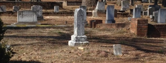 Old Roswell Cemetery is one of Visit Roswell, GA.